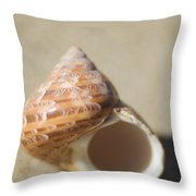 Tapestry Turban Seashell Throw Pillow