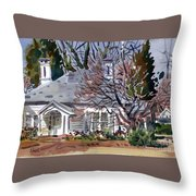 Tapp House Throw Pillow
