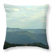 Tara Mountain West Serbia Landscape  Throw Pillow