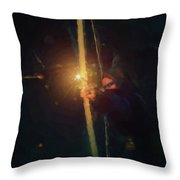 Tara Nighthunter Throw Pillow
