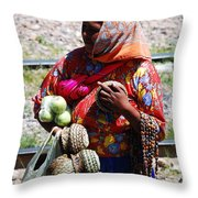 Tarahumara Casual Sale  Throw Pillow