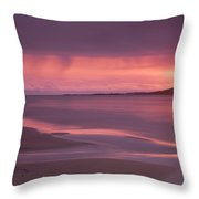 Taransay At Sunset Throw Pillow