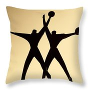Sailors Monument Intaranto Throw Pillow
