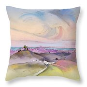 Tarbena 07 Throw Pillow