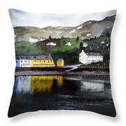 Tarbert Reflections Throw Pillow