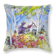 Tarbes 05 Throw Pillow