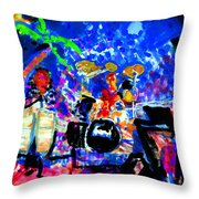 Target At The Palm Club Throw Pillow