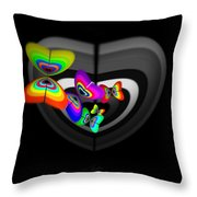 Target Heart Throw Pillow