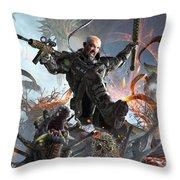 Target Rich Environment Throw Pillow