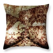 Tarnished Love Throw Pillow