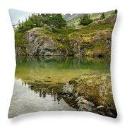 Tarns Of Nagoon 172 Throw Pillow