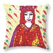 Tarot Of The Younger Self The Empress Throw Pillow