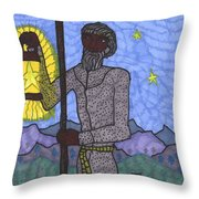 Tarot Of The Younger Self The Hermit Throw Pillow