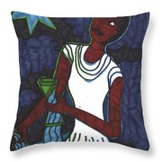 Tarot Of The Younger Self The Star Throw Pillow