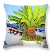 Tarpon                 Tarpon Palm                                     Throw Pillow