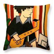 Taruira 1 - Marcelo Throw Pillow