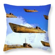 Task Force Throw Pillow