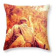 Tasmania Search And Rescue Ses Volunteer  Throw Pillow