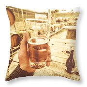 Tasmanian Ciders Throw Pillow