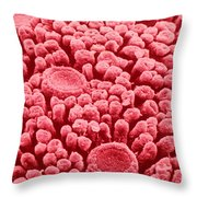 Taste Buds, Sem Throw Pillow by Omikron