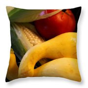 Taste Of Summer Throw Pillow by Karen Wiles