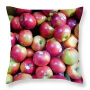 Tasty Fresh Apples 1 Throw Pillow