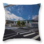 Tata Innovation Cornell Tech Nyc Throw Pillow