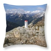 Tatra Mountains 1 Throw Pillow