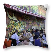 Tattoo Man Throw Pillow