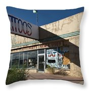 Tattoos And More Throw Pillow