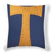 Tau Cross Throw Pillow