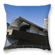Taubman And Tower Roanoke Virginia Throw Pillow