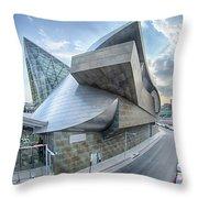 Taubman Museum Of Art Roanoke Virginia Throw Pillow
