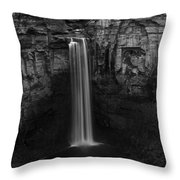 Taughannock Falls Late November Throw Pillow