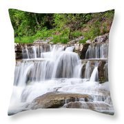 Taughannock Falls Sp 0462 Throw Pillow