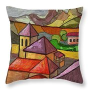 Taulades Throw Pillow