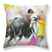 Taurean Power Throw Pillow