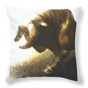 Taurus II Throw Pillow