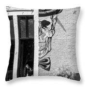 Taxman Waitress Throw Pillow