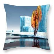Taxus Glacialis Throw Pillow