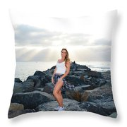 Taylor 020 Throw Pillow