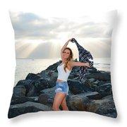 Taylor 021 Throw Pillow