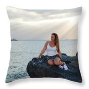 Taylor 024 Throw Pillow