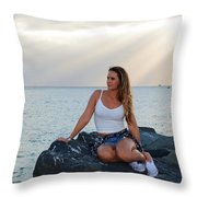 Taylor 025 Throw Pillow