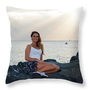 Taylor 027 Throw Pillow
