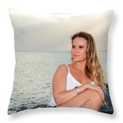 Taylor 030 Throw Pillow