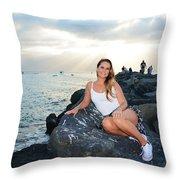 Taylor 033 Throw Pillow