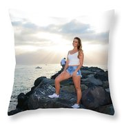 Taylor 035 Throw Pillow