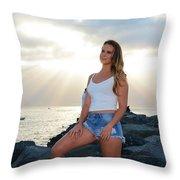 Taylor 036 Throw Pillow