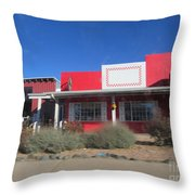 Taylor Feed Store Throw Pillow